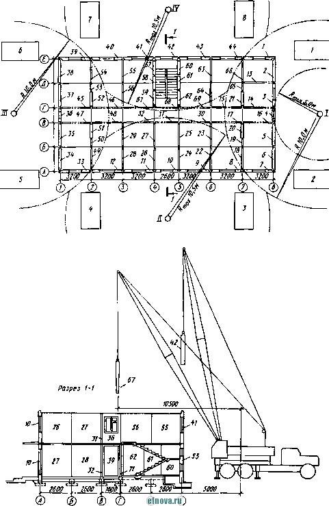 Монтажная схема 2-го этажа