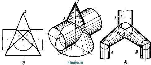 Бесплатные примеры чертежей и задач по начертательной ...